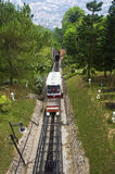 Penang Hill Funicular Train Stock Photos