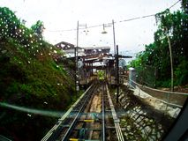 Penang Hill with Rain, Penang, Malaysia Royalty Free Stock Photography