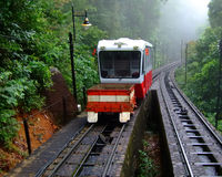 Penang Hill Tram Stock Photo