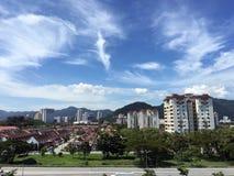 Penang island landscape view Stock Photos