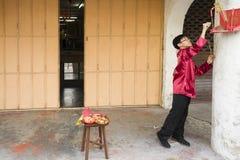 PENANG, MALÁSIA - 3 de fevereiro de 2011 ano novo chinês Fotografia de Stock Royalty Free