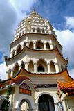 Penang, Malaisie : Pagoda de temple de Kek Lok SI Photographie stock libre de droits