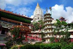 Penang, Malaisie : Temple 1891 de Kek Lok SI Photographie stock libre de droits
