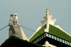 Penang, Malasia - 9 de agosto de 2015: Templo con la ornamentación compleja Imágenes de archivo libres de regalías