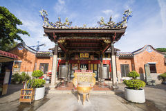 PENANG, MALAYSIA-AUGUST 10, 2015 Snake Temple in Penang, Malaysi Royalty Free Stock Photo