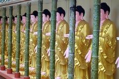 Penang, Malaysia : Buddhas at Kek Lok Si Temple Stock Image