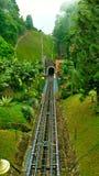 Penang Malaysia Funicular Optical Illusion royalty free stock photography