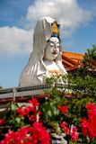 Penang, Malaysia: Guan Yin Buddha am Tempel Lizenzfreies Stockbild
