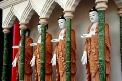 Penang, Malaysia: Kek Lok Si Buddhas Royalty Free Stock Photos