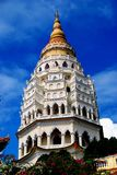 Penang, Malaysia: Kek Lok Si Tempel-Pagode Lizenzfreies Stockfoto