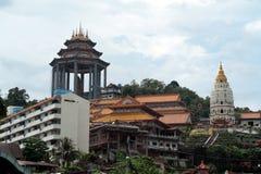 Penang Malaysia: Kek Lok Si Temple Fotografering för Bildbyråer