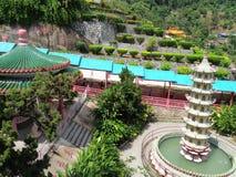 Penang Malaysia: Kek Lok Si Temple Arkivfoton