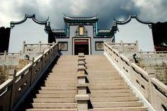 Penang Malaysia: Tien Gong Tan Temple royaltyfri fotografi