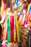 PENANG, 10 MALEISIË-AUGUSTUS, 2015:: kleurrijk lint voor prat binnen Royalty-vrije Stock Foto's