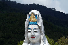 Penang, Maleisië: Boedha in Kek Lok Si Temple Royalty-vrije Stock Afbeeldingen