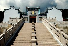 Penang, Maleisië: Tien Gong Tan Temple Royalty-vrije Stock Fotografie