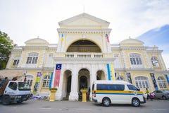 Penang, Malesia - 10 agosto - 2015:: Comune di Penang in George Immagine Stock Libera da Diritti