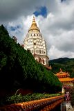 Penang, Malesia: Pagoda del tempiale di Kek Lok Si Immagini Stock