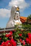 Penang, Malezja: Guan Yin Buddha przy świątynią Obraz Royalty Free