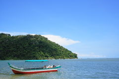 Penang National Park And Boat Stock Image