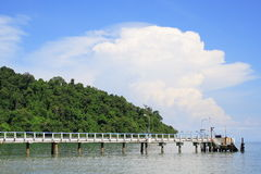 Penang National Park And Wharf Stock Images