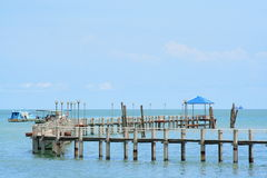 Penang National Park And Wharf Stock Photo