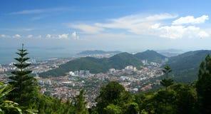 Penang od above obraz royalty free