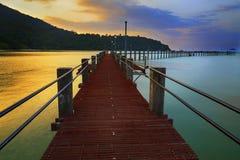 Penang port Fotografia Stock