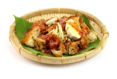 Penang Rojak Pasembur Photo stock