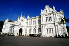 Penang stadshus royaltyfri foto