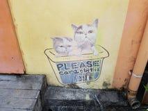 Penang-Straßenkunst Stockbilder