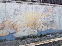 Penang-Straßenkunst Lizenzfreies Stockfoto