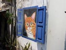 Penang-Straßenkunst Lizenzfreie Stockfotografie