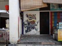 Penang-Straßenkunst Lizenzfreie Stockbilder