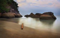Penang strand Arkivbilder