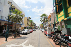 Penang street view in Malaysia Royalty Free Stock Photography