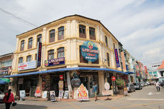 Penang street view in Malaysia Royalty Free Stock Photo