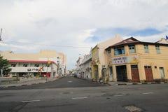 Penang street viewin Malaysia Royalty Free Stock Photo