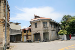Penang street viewin Malaysia Royalty Free Stock Photography