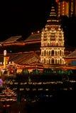 Penang - templo de la dicha suprema (Kek Lok Si) fotografía de archivo libre de regalías