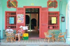 Penang : Temps de pause café Photographie stock
