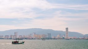 Free Penang View From Ferry. Royalty Free Stock Images - 157368869