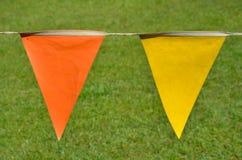 Penants anaranjados y amarillos Fotos de archivo