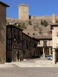Penaranda de Douro, Spain imagem de stock