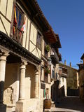 Penaranda de Duero, Burgos (Ισπανία) Στοκ φωτογραφία με δικαίωμα ελεύθερης χρήσης