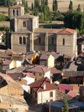 Penaranda de Duero, Burgos ( Spain ). View of Peñaranda de Duero village, Burgos Province, Castile and Leon, Spain Stock Images