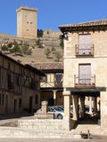 Penaranda DE Duero, Burgos (Spanje) Royalty-vrije Stock Afbeeldingen