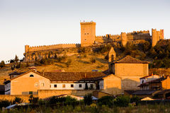 Penaranda de Duero Castle Royalty Free Stock Images