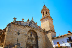 Penarroya de Tastavins in Teruel Spain village Stock Image