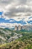 Penarroya peak at Teruel, Spain Royalty Free Stock Photos
